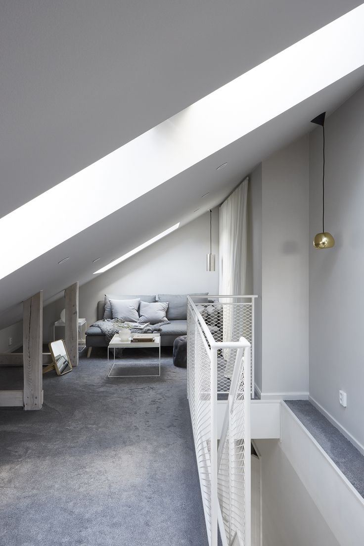 Attic bedroom Interior design Scandinavian design Stenkullavägen 44 | Fantastic Frank