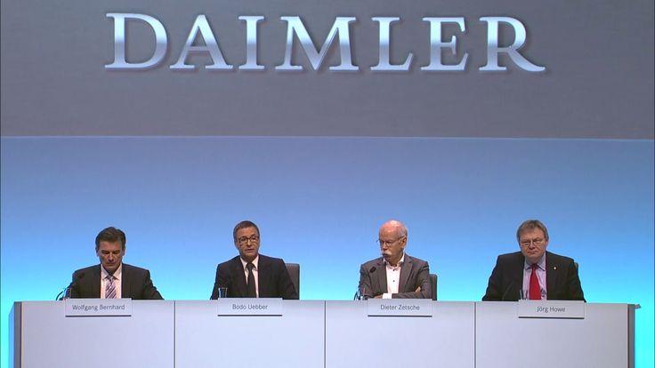 Daimler AG Jahrespressekonferenz 2016