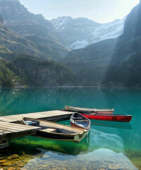 Lago O'Hara, British Columbia en #Canada. El lago y el valle son accesibles a través de un servicio de autobús que está a cargo de Parques de Canadá o por un alza de 11 kilometros a lo largo de una carretera con un desnivel de unos 500 metros. #BestDay #OjalaEstuvierasAqui #BritishColumbia