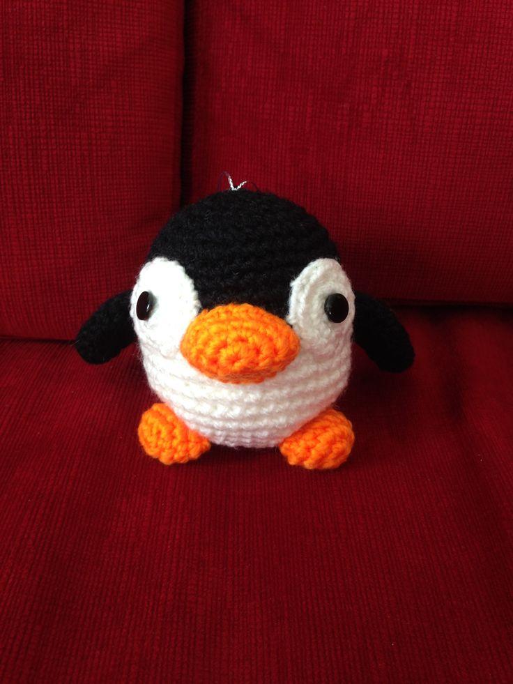 Pingüino colgante para el auto
