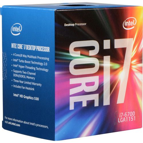 Intel Core i7-6700 3.4 GHz Quad-Core Processor