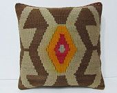 decorating living room 18x18 turkish pillow case outdoor pillow case kilim pillow gypsy pillow cover large pillow decorative pillows 24938