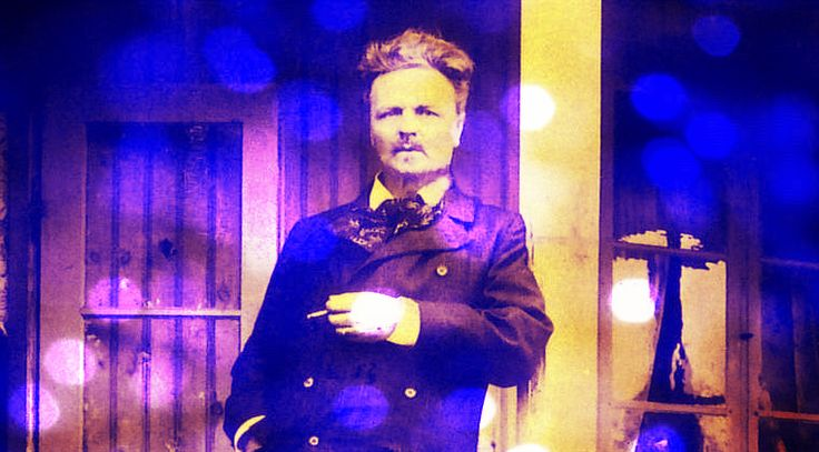 August Strindberg. Swedish author 7