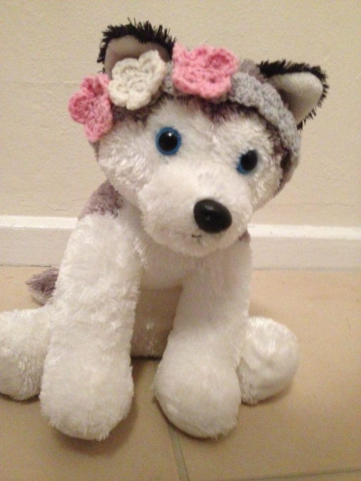 Baby crochet headband