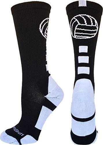 Volleyball Logo Crew Socks