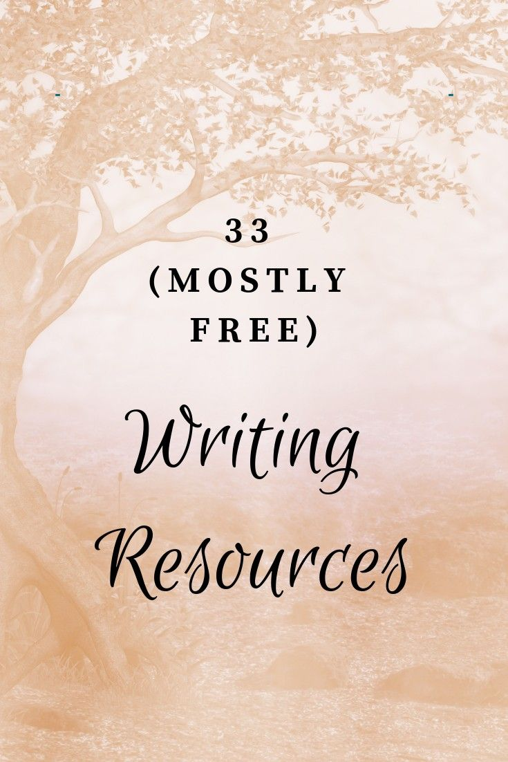 Master List of (Mostly Free) Resources for Writers | writing