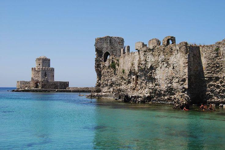 TRAVEL'IN GREECE I Methoni Castle, #Peloponnese, #Greece