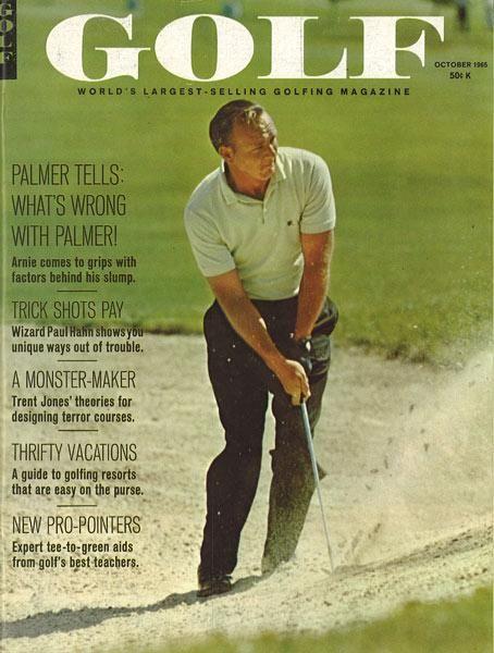 Arnold Palmer - GOLF Magazine 10/65