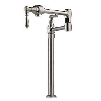 62710LF-SS Traditional Traditional Pot Filler - Deck-Mount