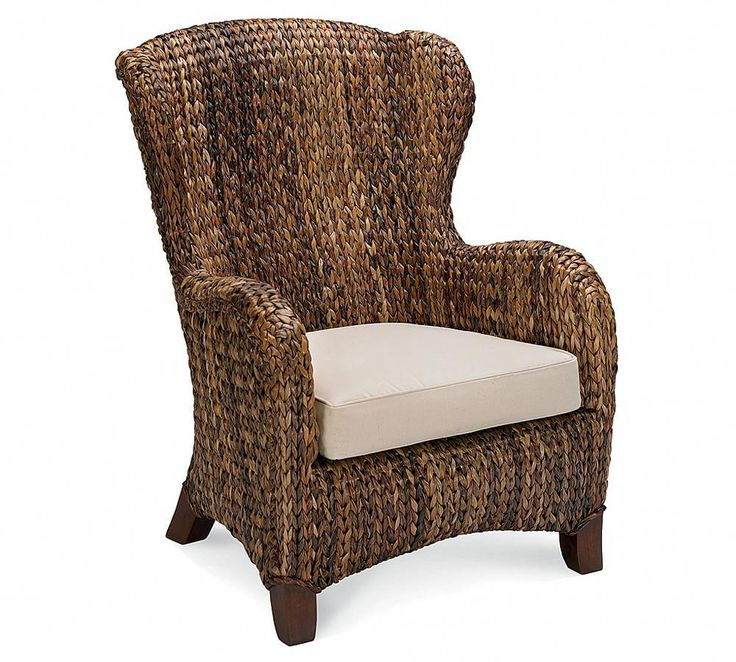 Seagrass Wingback Armchair - Woven Armchairs - Woven ...