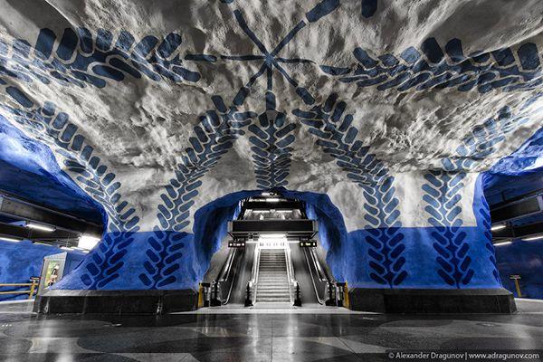 Alexander Dragunov Stockholm Subway.