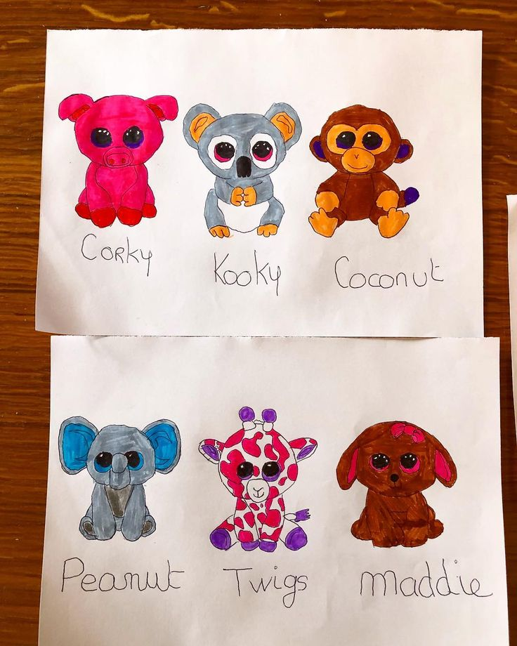 we did some Ty animals with the eldest. She loved this animals. nous avons fait quelques Animaux Ty avec la plus grande. Elle les adore. . . . #tyanimals #drawing #draw  #child #children #childhood #childcare #childhoodunplugged #childhoodmemories #kids #kidscraft #kidstagram #learning #learningisfun #learningbydoing #learningtogether #learningthroughplay #nanny #nounou  #nannyjob #nannying #nannylife #nannygram #nannylove #lifeofnanny