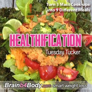 132: Tuesday Tucker, Turn 3 Mass Cook-ups into 9 Different Meals. http://www.brainb4body.com/132-tuesday-tucker-turn-3-mass-cook-ups-into-9-different-meals/