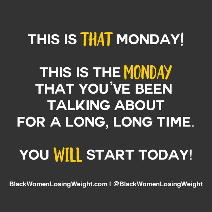 This is the Monday you've been talking about. Start Today! #motivationmonday #mondaymotivation