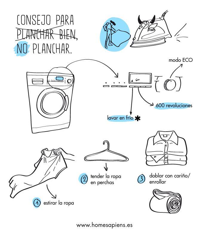 Consejos para torear a la plancha: http://homesapiens.es/2012/12/truco-para-no-tener-que-planchar/                                                                                                                                                     Más
