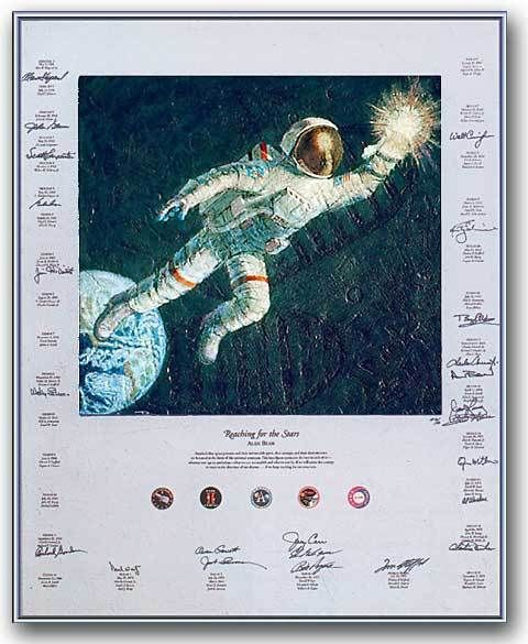 astronaut reaching for the stars - 480×585