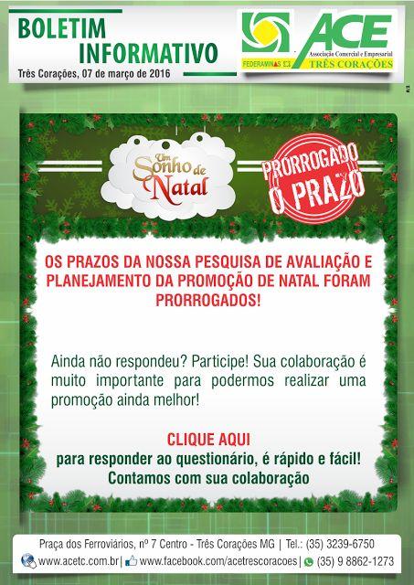 Folha do Sul - Blog do Paulão no ar desde 15/4/2012: BOLETIM ACE: PRORROGADO PRAZO