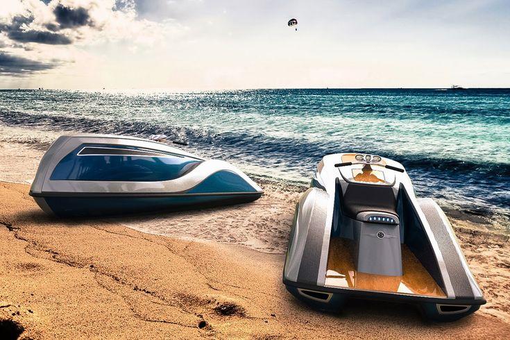 Ein 300 PS starker V8-Motor lässt denStrand Craft V8 Wet Rodmit bis zu 105 km/h über das Wasser schießen. Neben seinem verdammt coolen Style, kann das außergewöhnliche Jetboot mit edlen Materiali...