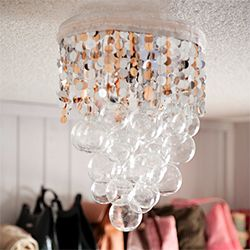 Homemade Chandelier Ideas: I am too obsessed with DIY chandeliers...Make Your Own Homemade,Lighting