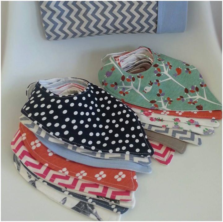 Lots of dribble bibs to choose from