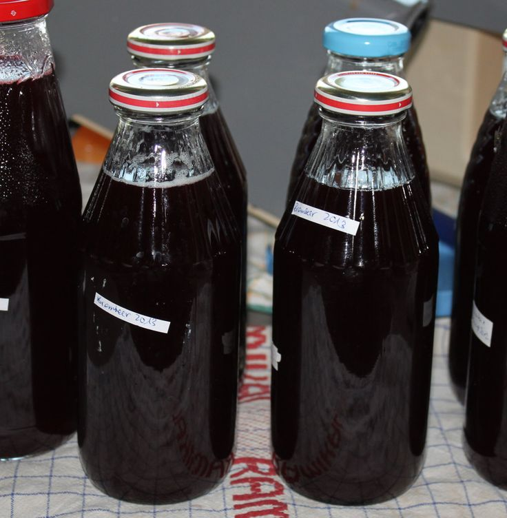 Dampfgarer Rezepte: Brombeersaft im Dampfgarer