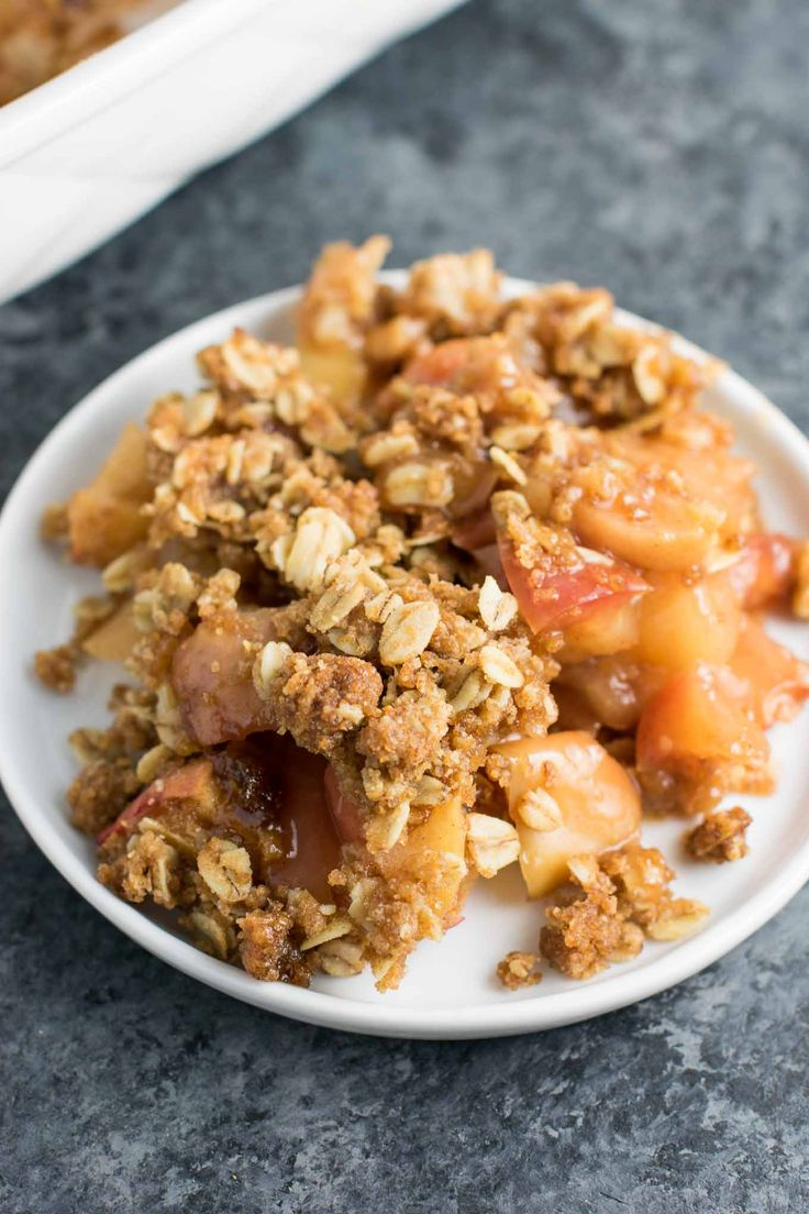 best vegan apple crisp recipe