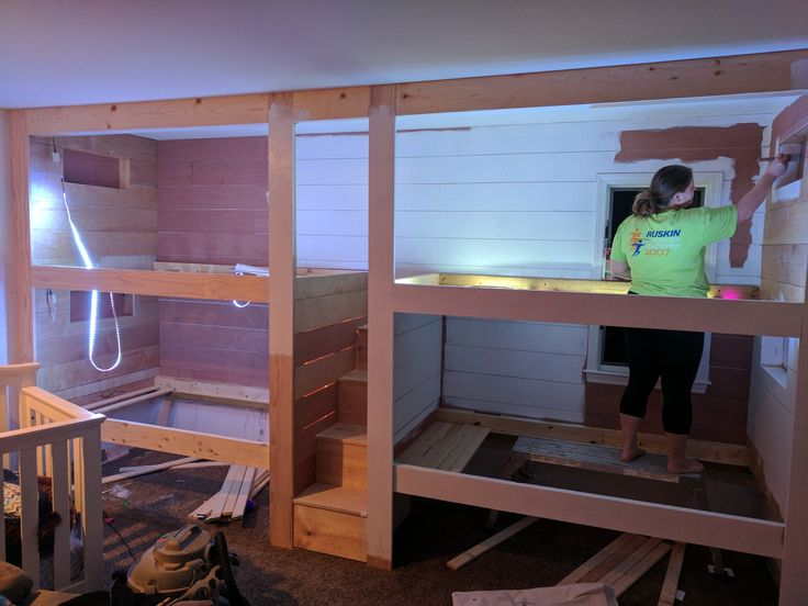 How much does it cost to build bunk beds with diy