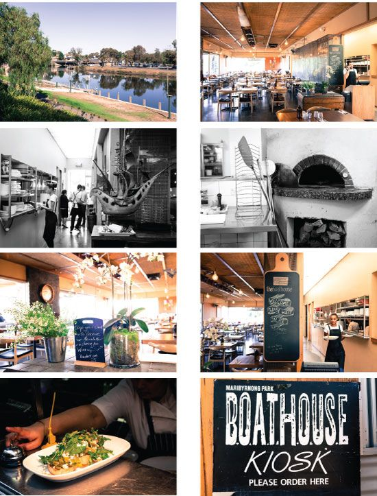 A customer of Chefshat since Early 2008, The Boathouse sits on the banks of the Maribyrnong River, a little oasis of gum trees, sloping grass banks, and old river terraces.