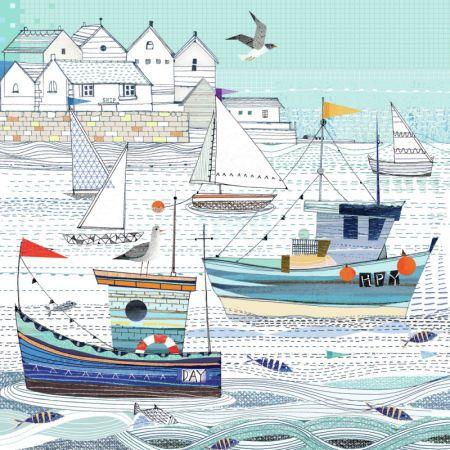Lynn Horrabin - Fishing Boats