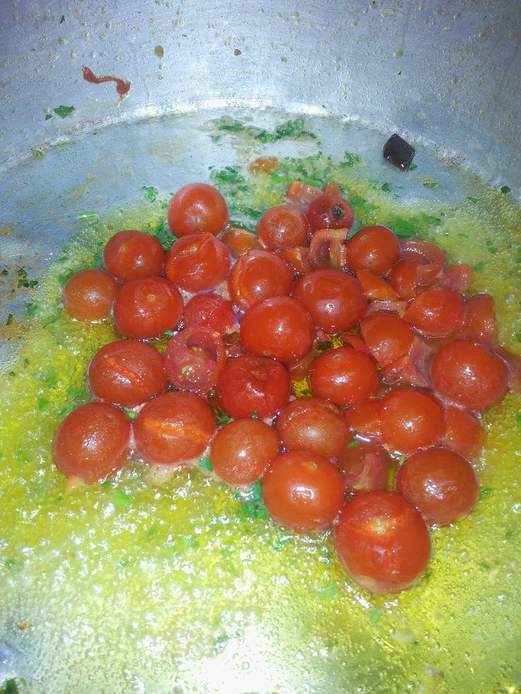 Nella cucina della brigantessa: Scialiatielli salsiccia, pomodori e ricotta bufali...