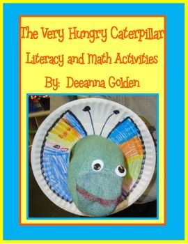 This packet of literacy and math activities is centered on the book The Very Hungry Caterpillar.It includes:Sequencing activity with puppet, Life Cycle of the Butterfly activityBeginning, middle and end activityMath story problemsAddition and subtraction