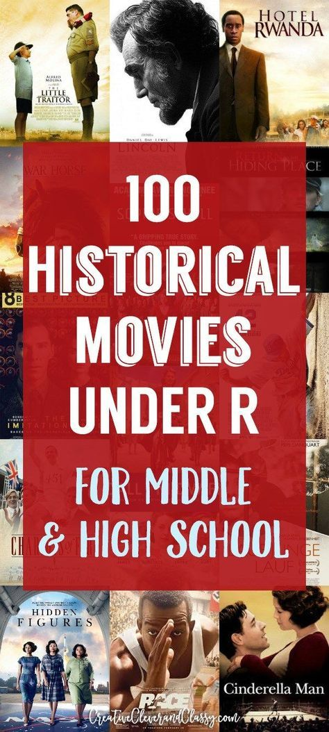 Hollywood has pushed out some impressive historical dramas. However, these films can be brutal. Here are some great historical movies for junior high and high school.