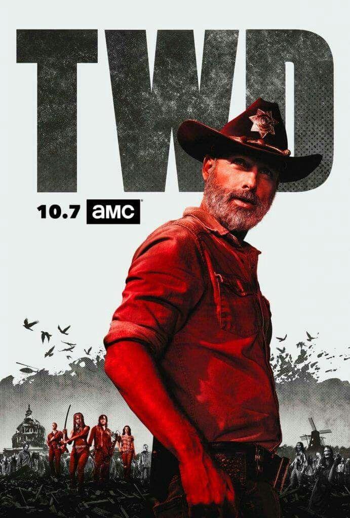 The Walking Dead Saison 10 Stream : walking, saison, stream, Industrial, Walking, Dead‼️, Season,, Season, Poster