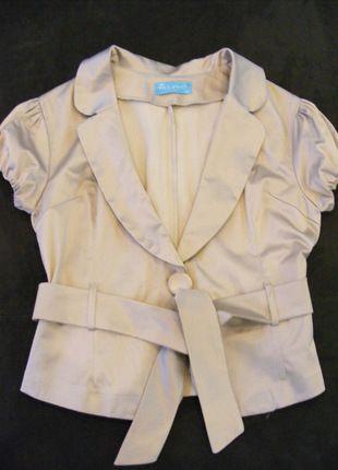Kup mój przedmiot na #vintedpl http://www.vinted.pl/damska-odziez/marynarki-zakiety-blezery/12075022-zlota-marynarka-na-wyjscie