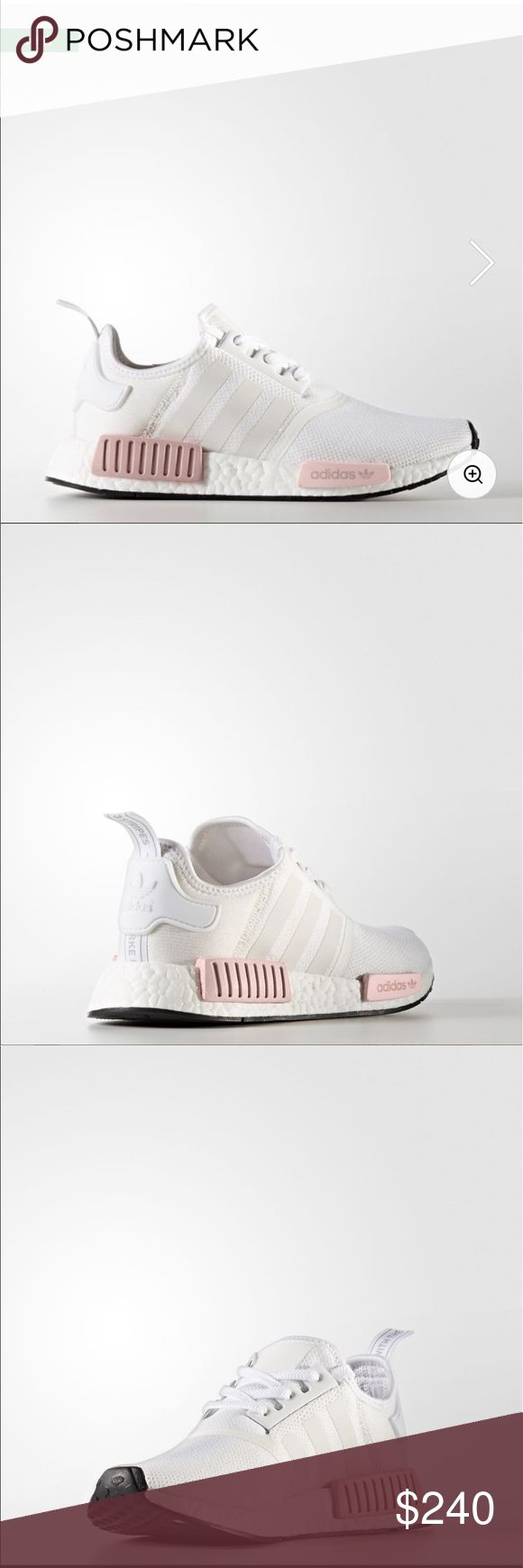 Adidas Originals - NMD R1 ➕ Brand: Adidas ➕ Size: Women's 7  ➕ Condition: Brand New  ➕ Description: comfortable & cute white original NMDS, 100% authentic adidas Shoes Athletic Shoes