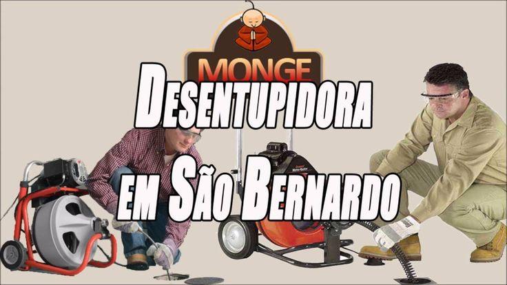 Desentupidora em São bernardo - Desentupidora Monge