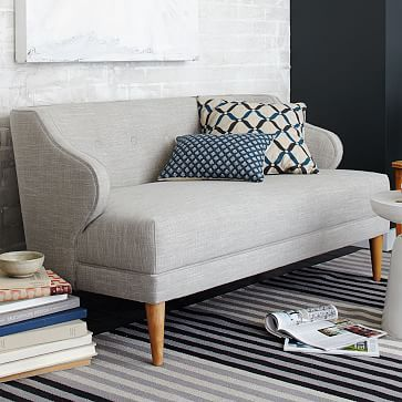 E, this is cute, but I do you think its a little too contemporary - B Captain's Settee #westelm