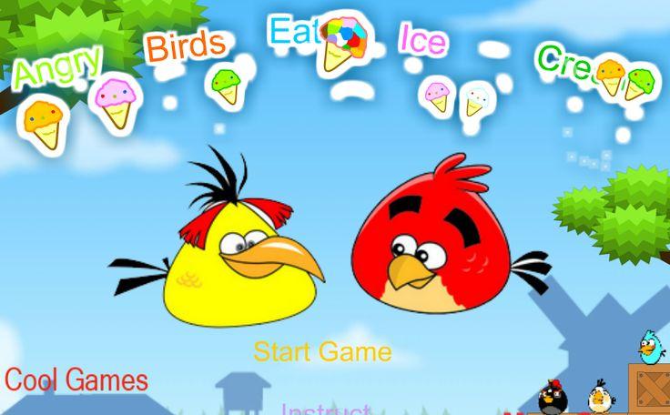Un minijuego de los angry birds donde ahora tienes que lanzarlos para capturar todos los helados que puedas, en cada nivel tendrás un personaje mas para poder ayudarte en esta misión de helados :)