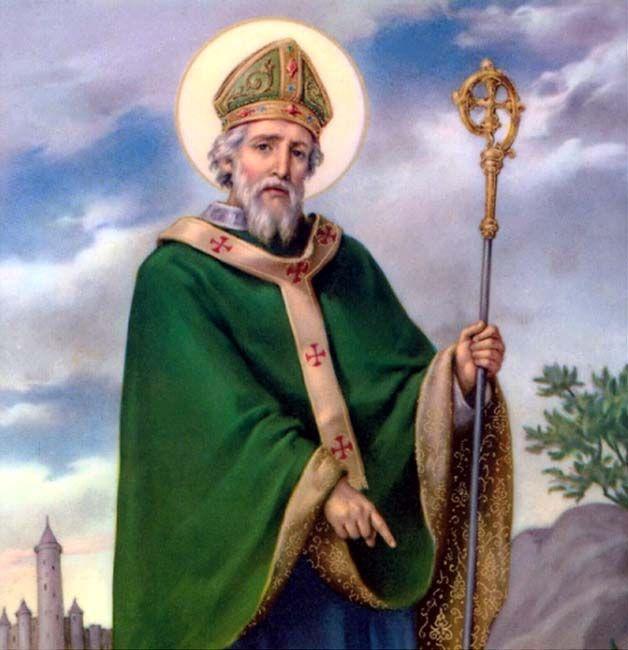 Levanto-me, neste dia que amanhece,  Por uma grande força, pela invocação da Trindade,  Pela fé na Tríade,  Pela afirmação da unidade  Do...