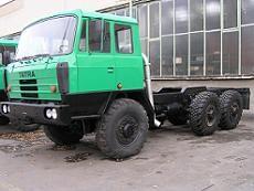 Přestavba vozidla na T815 návěsový tahač 6x6