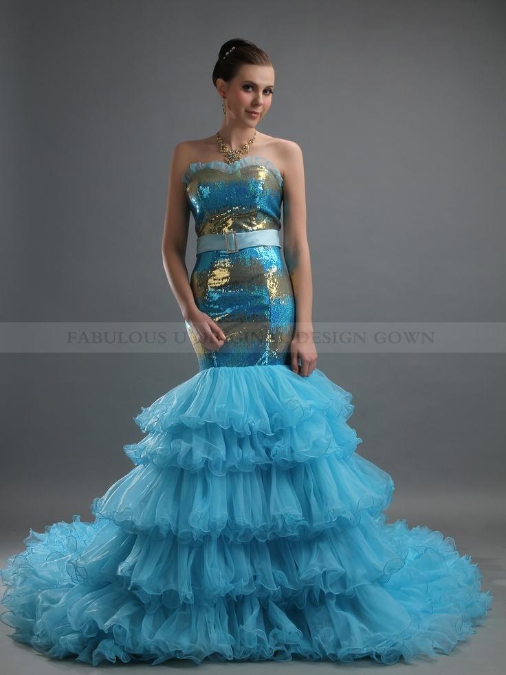 21 best Gold Wedding Dresses images on Pinterest   Wedding frocks ...
