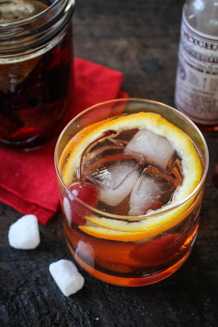 Fig Bourbon Old Fashioned (with Fig-and-Vanilla-Infused Bourbon)   Katie at the Kitchen Door