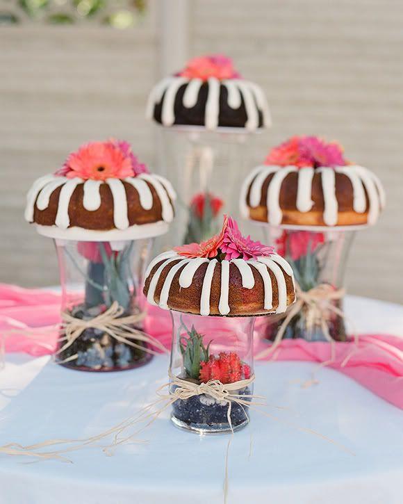 Christine Olson Photography: Bundt Wedding Cake