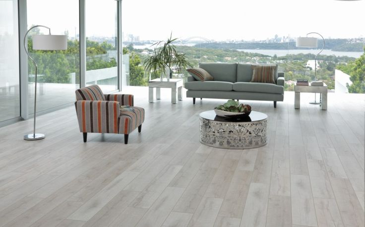 Vintage Laminate Flooring - White Pearl
