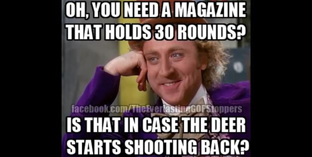 pro gun control | gun control advocates have a laugh with these funny memes 1 23 2013