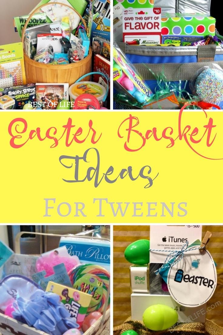 The 25 best cheap easter baskets ideas on pinterest easter 2015 easter basket ideas for tweens and teens negle Gallery