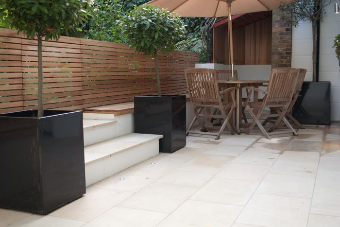 Beige Sawn Sandstone Paving - London Stone
