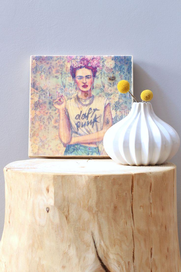 DIY: Transferencia de imágenes sobre madera | La Bici Azul: Blog de decoración, tendencias, DIY, recetas y arte