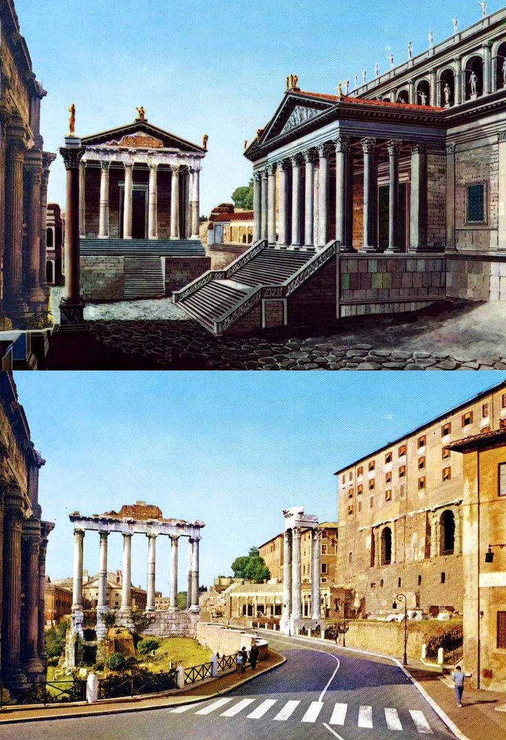 23 best images about spqr on pinterest camps temples for Architecture romaine