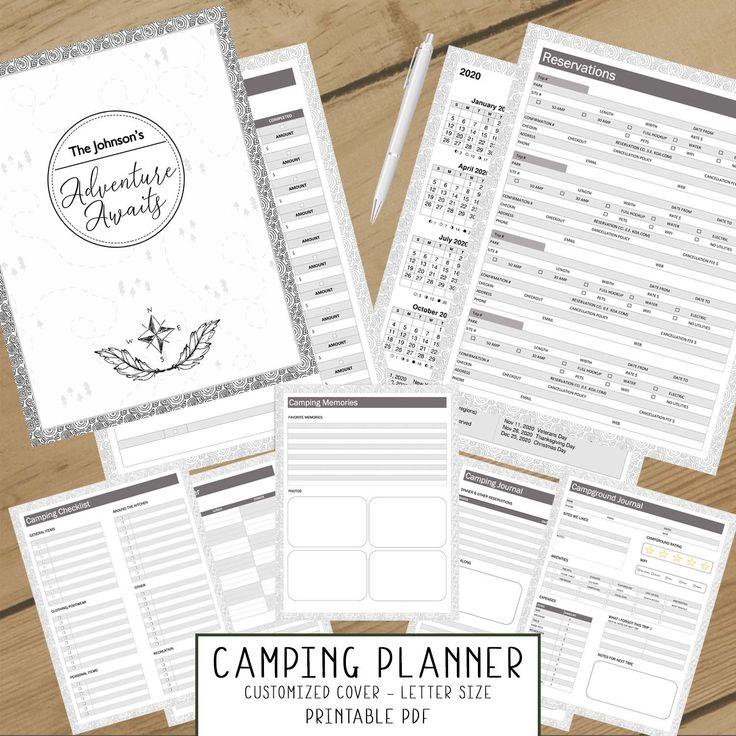 Camping Log & Travel Journal (Adventure Awaits ...